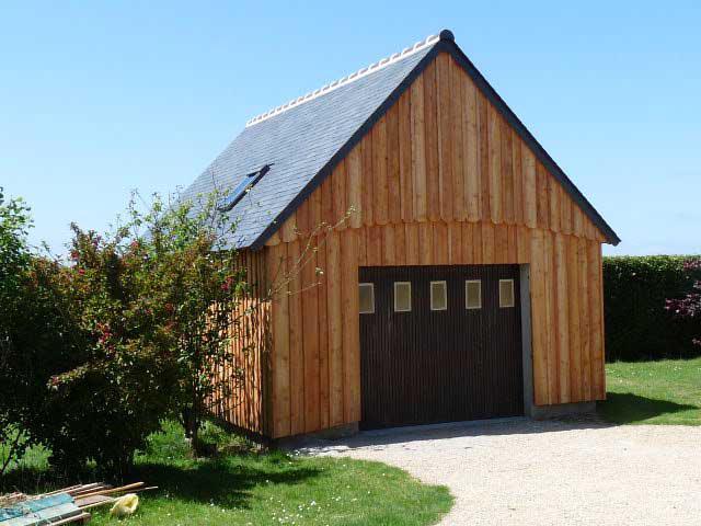 Garage structur bois - Structure en bois pour garage ...