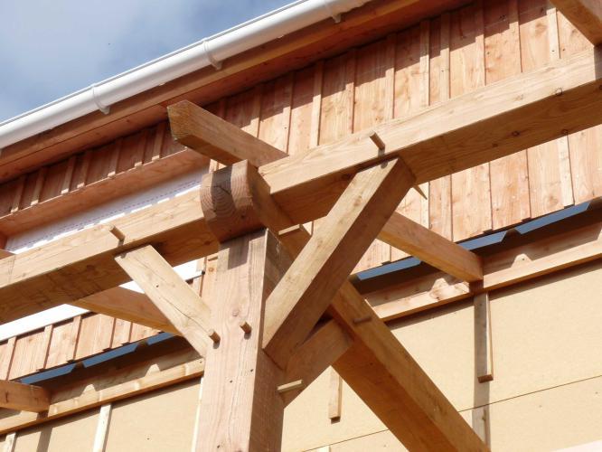 Constructionà ossature bois Structuré Bois # Formation Construction Ossature Bois
