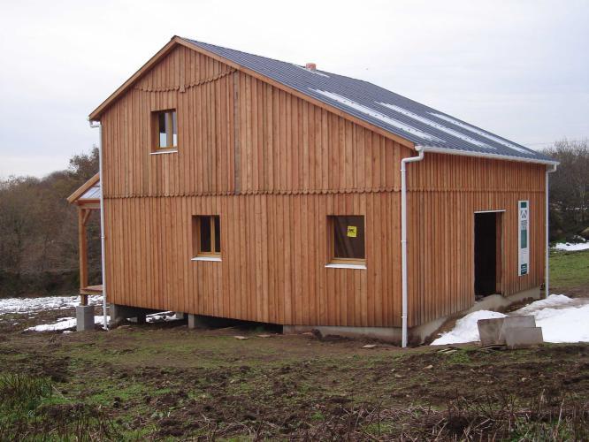 Construction ossature bois structur bois for Construction bois 68