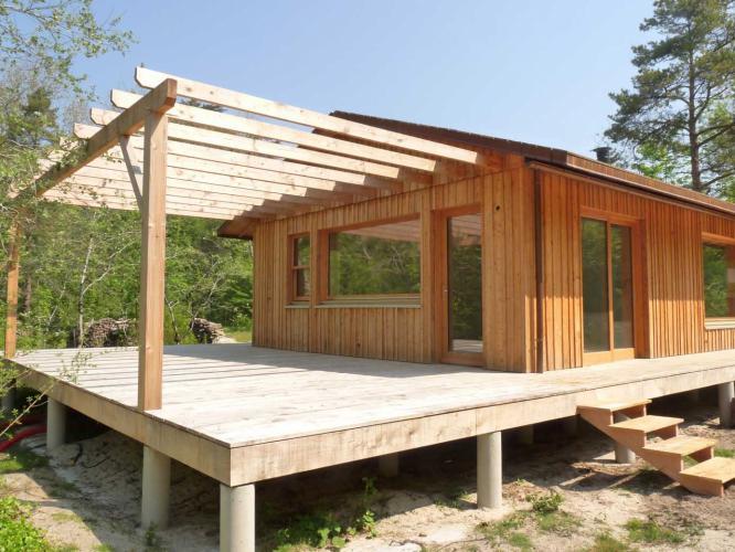 Maison en bois keremma structur bois - Maison en bois bretagne ...