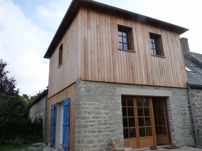 Bardage bois structur bois for Bardage bois maison ancienne