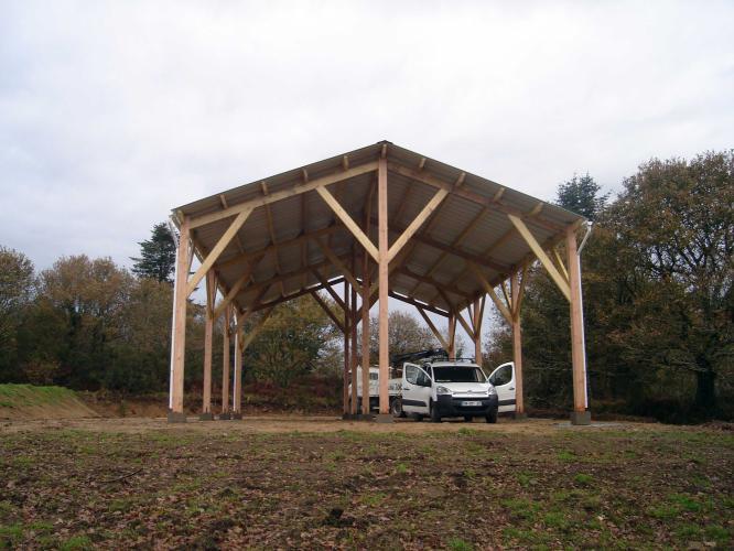 Charpente Hangar Bois - Charpente Bois Hangar ~ Catodon com Obtenez des idées de design intéressantes en utilisant du