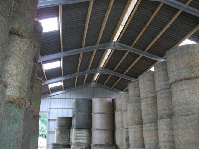 Charpente agricole  Structuré Bois