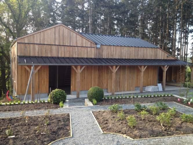 Construction ossature bois structur bois - Pont thermique ossature bois ...