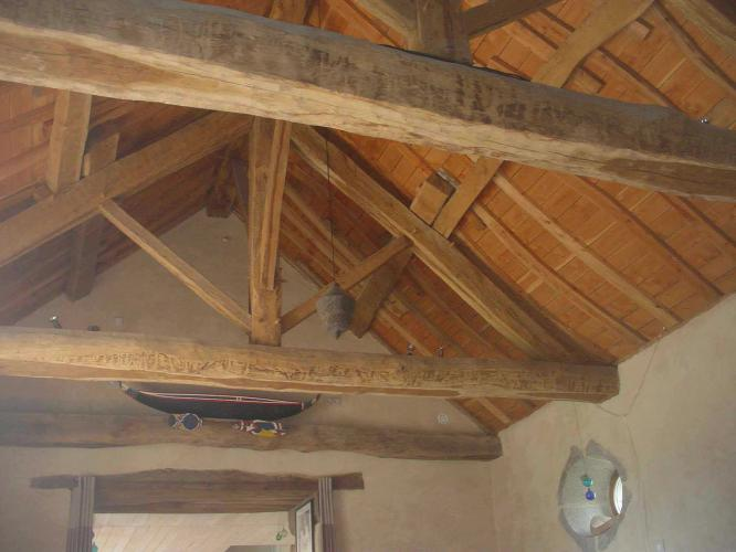 Charpente traditionnelle Structuré Bois # Structure Charpente Bois