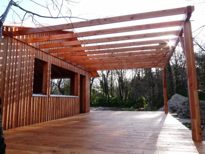 Terrasse bois  Structuré Bois